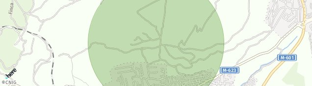 Mapa Monte Golf