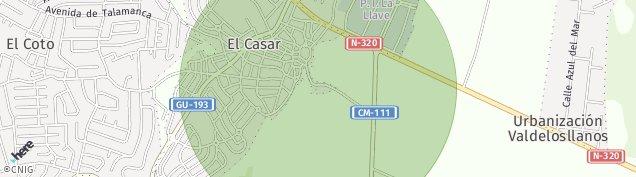 Mapa Urbanizacion Las Colinas