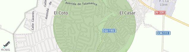 Mapa Urbanizacion El Coto