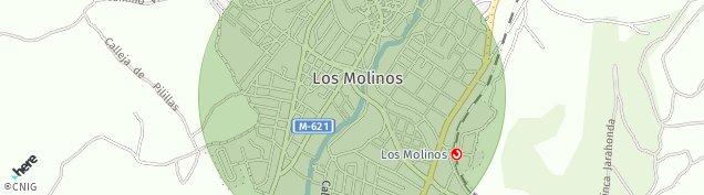 Mapa Los Molinos