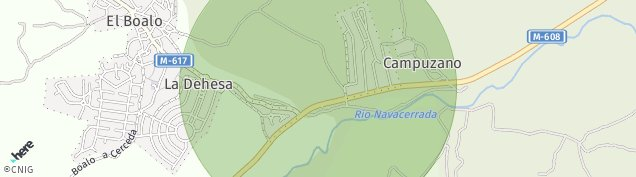 Mapa El Boalo