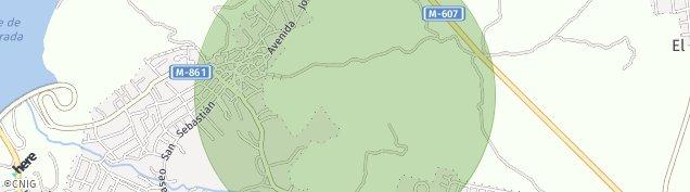 Mapa Becerril de la Sierra