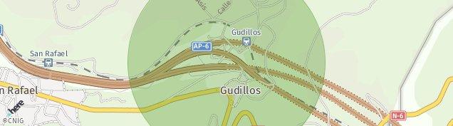 Mapa Gudillos
