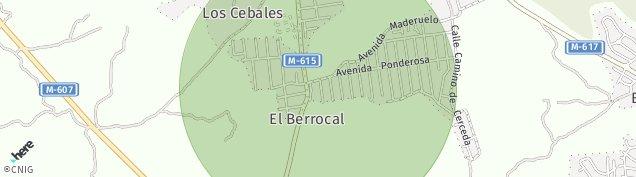 Mapa La Ponderosa de La Sierra