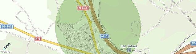 Mapa San Rafael