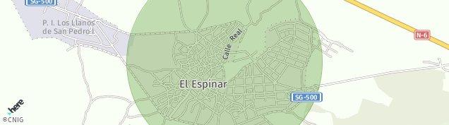 Mapa El Espinar