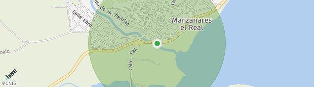 Mapa Manzanares el Real