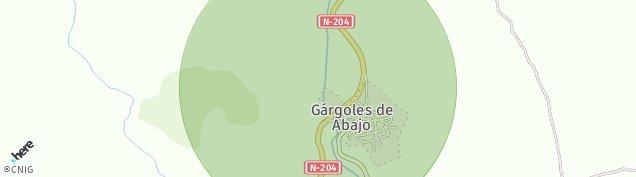 Mapa Gargoles de Abajo