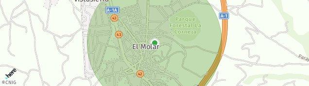 Mapa El Molar