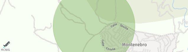 Mapa Pedrezuela