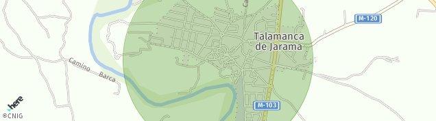 Mapa Talamanca del Jarama