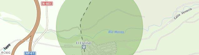 Mapa La Estación de El Espinar