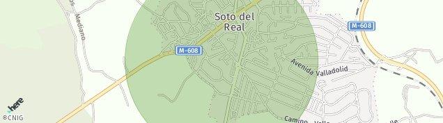 Mapa Soto del Real