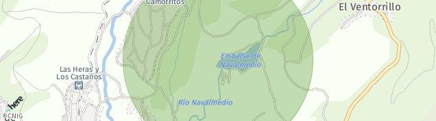 Mapa Puerto de Navacerrada