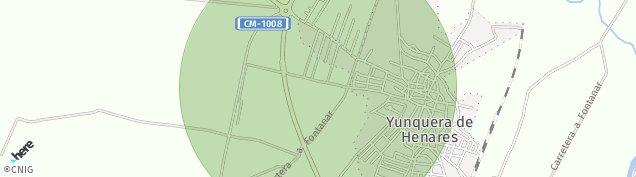 Mapa Yunquera de Henares