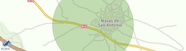Mapa Navas de San Antonio