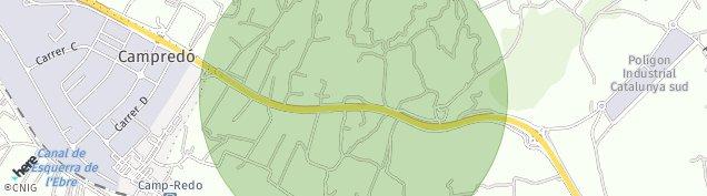 Mapa Camp-Redo