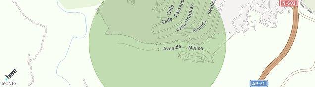 Mapa Los Angeles de San Rafael