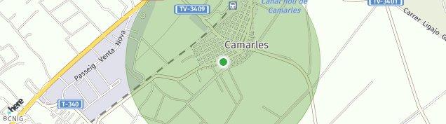 Mapa Camarles