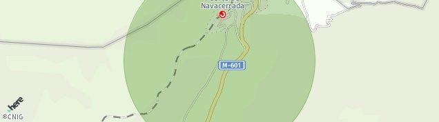 Mapa Pueblo Navacerrada