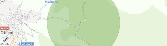 Mapa Cifuentes