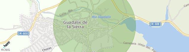 Mapa Guadalix de la Sierra