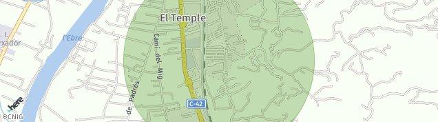 Mapa El Raval de La Llet
