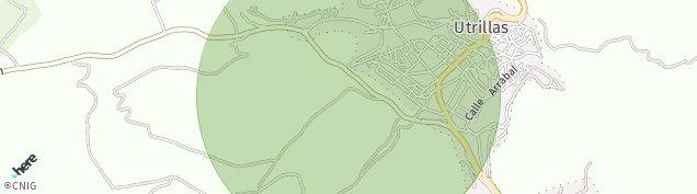 Mapa Utrillas