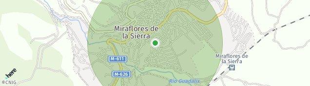 Mapa Miraflores de la Sierra