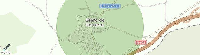 Mapa Otero de Herreros