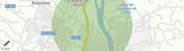Mapa Tortosa