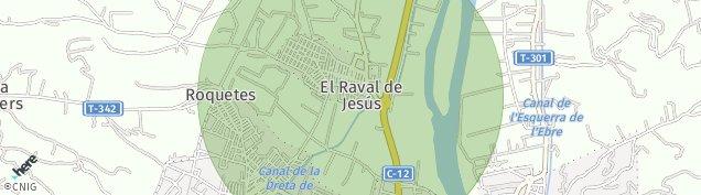 Mapa Roquetes