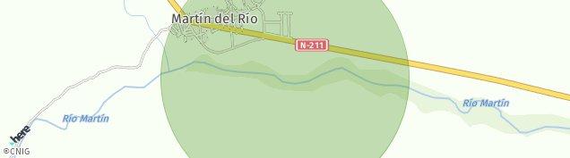 Mapa Martín del Río