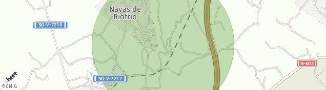 Mapa Navas de Riofrío