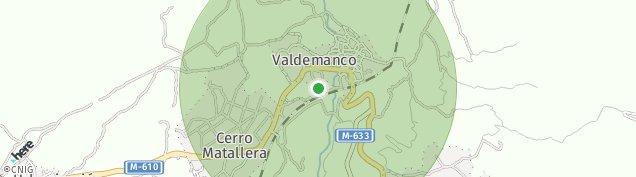 Mapa Valdemanco