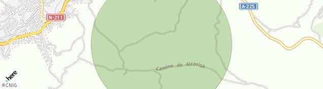 Mapa Alcorisa