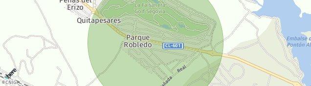 Mapa Parque de Robledo