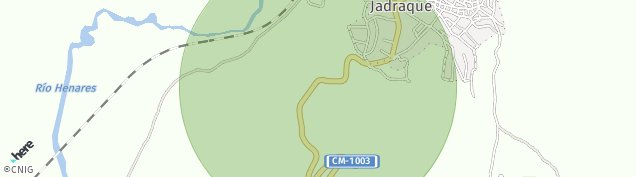 Mapa Jadraque