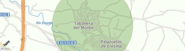 Mapa Tabanera del Monte