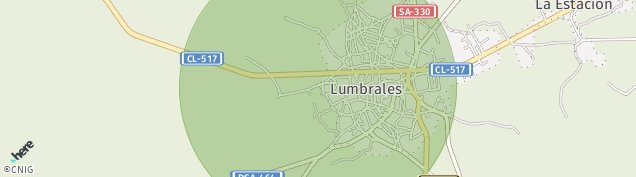 Mapa Lumbrales