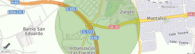 Mapa Aldeatejada