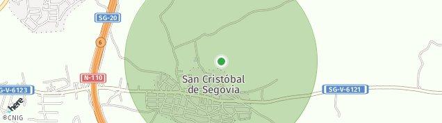 Mapa San Cristóbal de Segovia