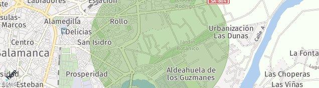 Mapa Salamanca