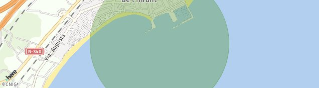Mapa L' Hospitalet de L'infant