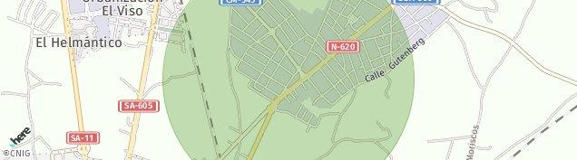 Mapa Poligono Los Villares Reina