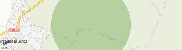 Mapa Torrecaballeros