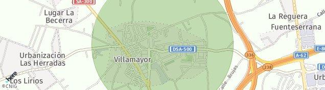 Mapa Villamayor