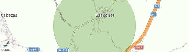 Mapa Gascones