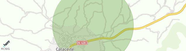 Mapa Calaceite