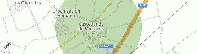 Mapa Castellanos de Moriscos